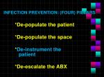 infection prevention four pillars3