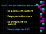 infection prevention four pillars4