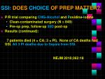ssi does choice of prep matter1