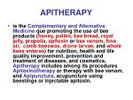 apitherapy