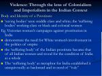 violence through the lens of colonialism and imperialism in the indian context