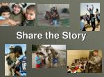 share the story