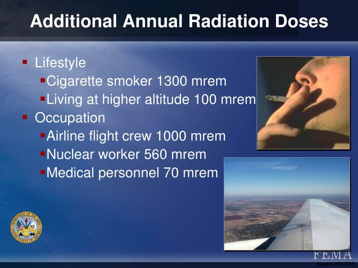 Additional Annual Radiation Doses
