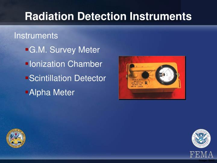 Radiation Detection Instruments