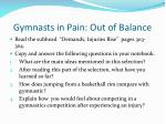 gymnasts in pain out of balance1