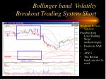 bollinger band volatilty breakout trading system short