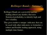 bollinger bands summary