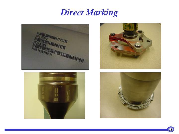 Direct Marking