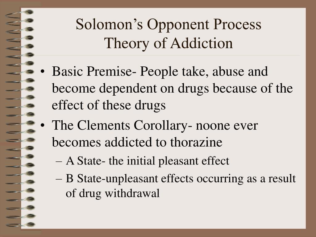 Solomon's Opponent Process