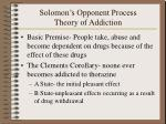 solomon s opponent process theory of addiction