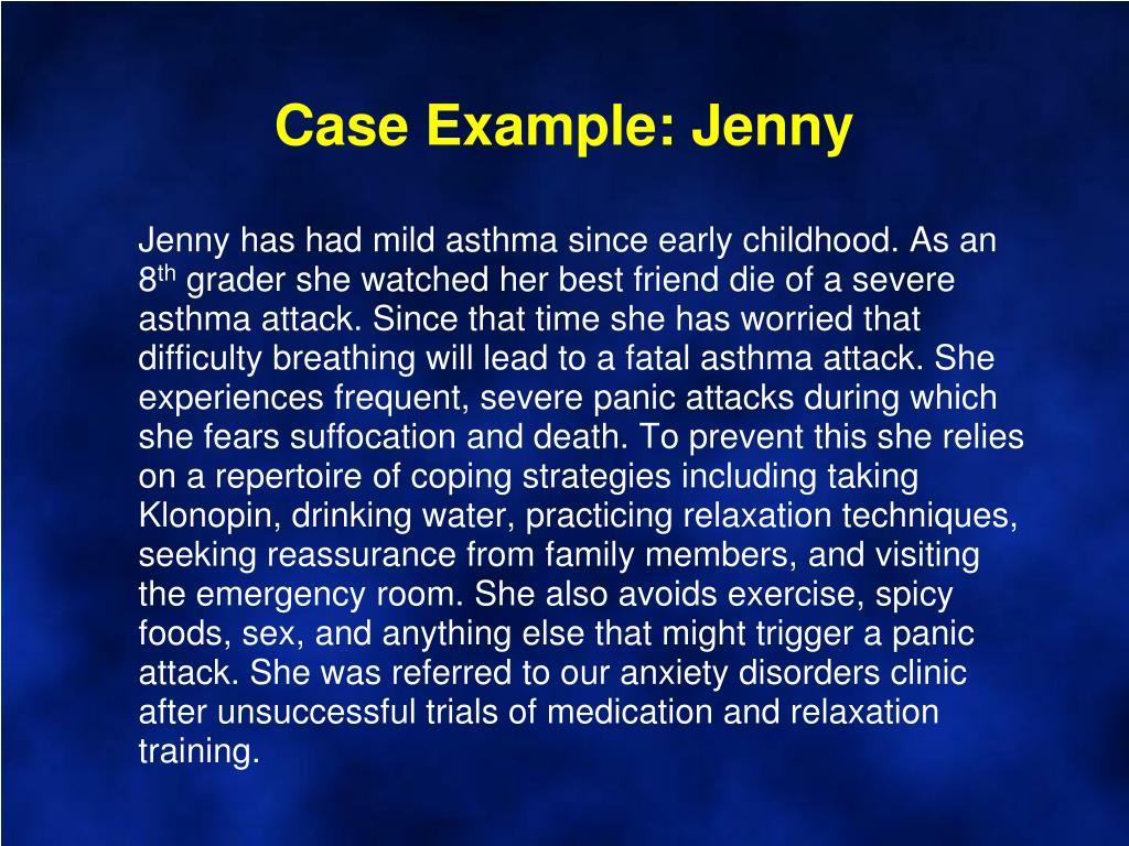 Case Example: Jenny