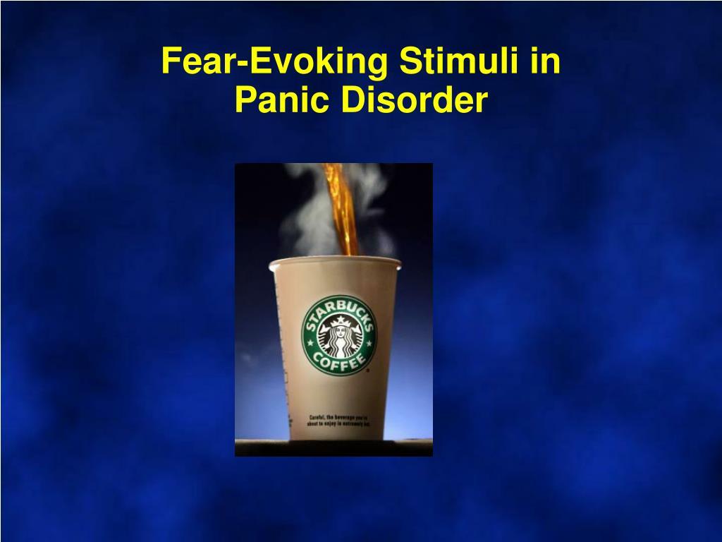 Fear-Evoking Stimuli in