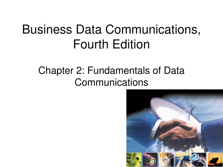 business data communications fourth edition n.