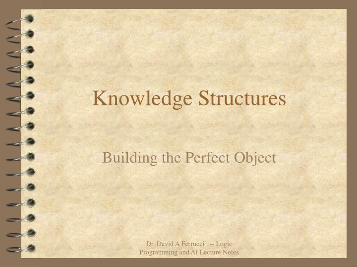 knowledge structures n.