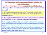 4 6 the control system analysis and design utilizing the root loci method2