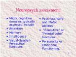 neuropsych assessment