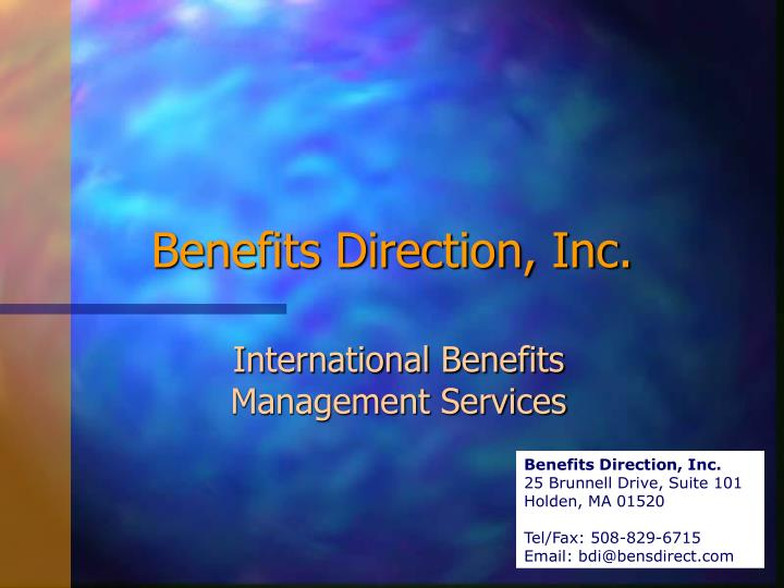 benefits direction inc n.