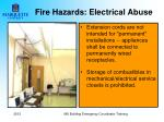 fire hazards electrical abuse1