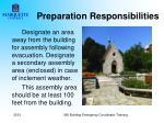preparation responsibilities4