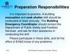preparation responsibilities5