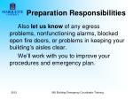 preparation responsibilities6
