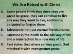 we are raised with christ2