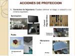 acciones de proteccion