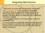 integrating mechanisms2