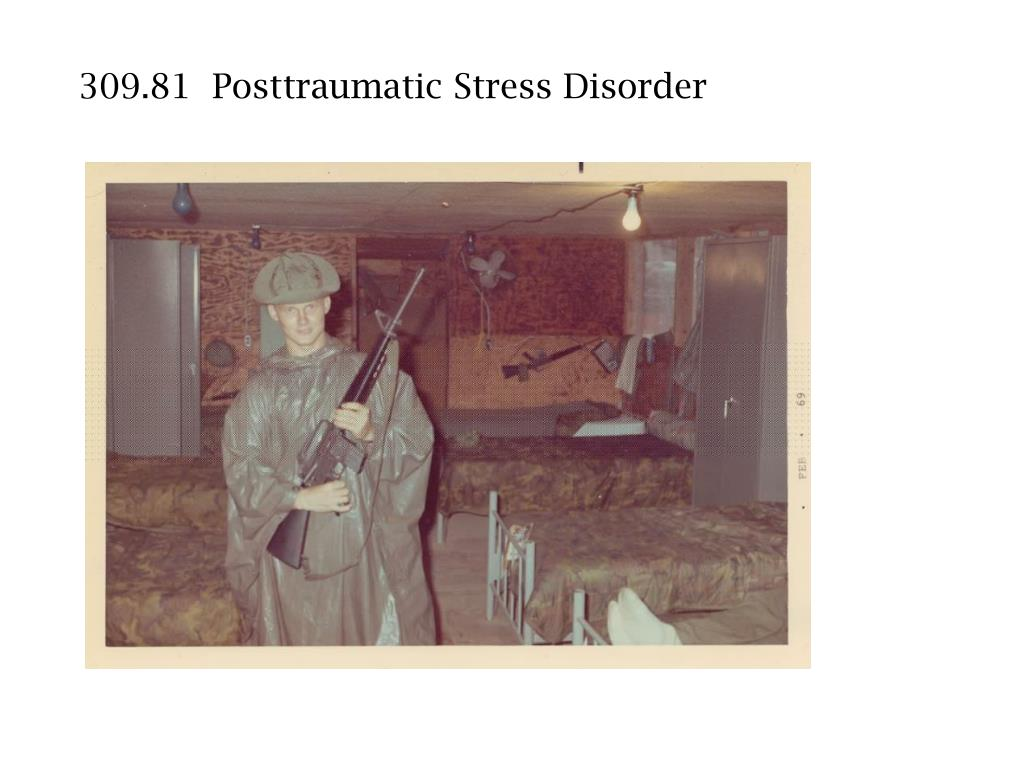 309.81  Posttraumatic Stress Disorder
