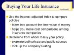 buying your life insurance1
