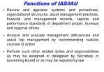 functions of ias iau1