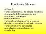 funciones b sicas