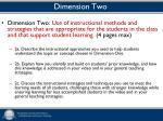 dimension two
