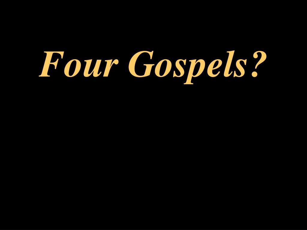 four gospels l.