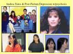 andrea yates post partum depression w psychosis