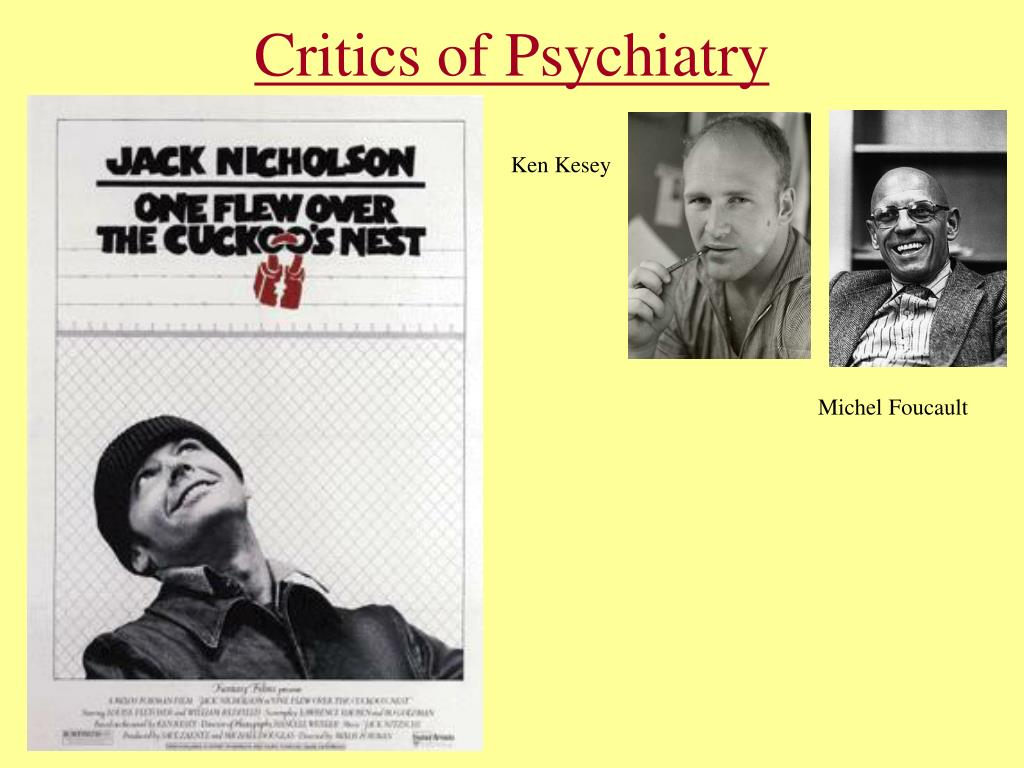 Critics of Psychiatry