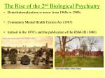 the rise of the 2 nd biological psychiatry16