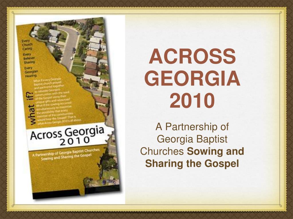 ACROSS GEORGIA 2010