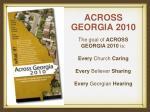 across georgia 20104