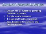 gambling treatment in oregon