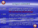 oregon numbers