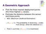 a geometric approach