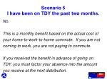 scenario 5 i have been on tdy the past two months1