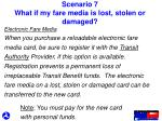 scenario 7 what if my fare media is lost stolen or damaged2