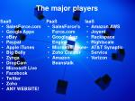 the major players