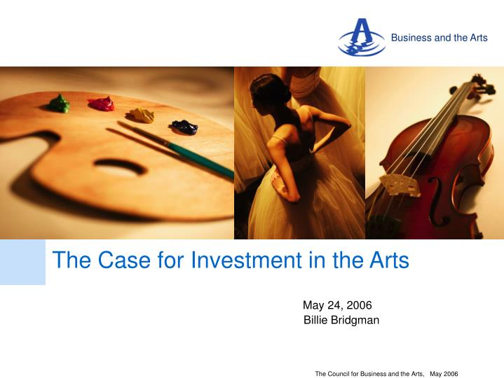 business and the arts n.