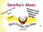 dorothy s shoes