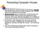 preventing computer viruses