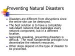 preventing natural disasters