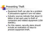 preventing theft